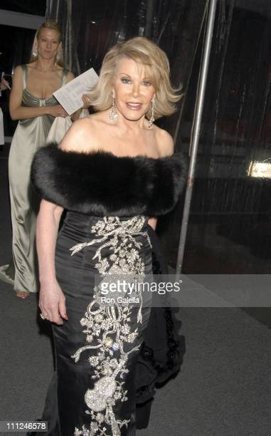 Joan Rivers during 65th Annual American Ballet Theatre Spring Gala at Lincoln Center in New York City New York United States