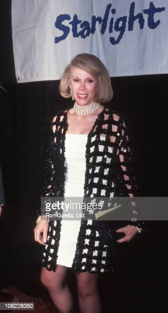 Joan Rivers during 6th Annual Starlight Foundation Gala at Marriot Marquis Hotel in New York City New York United States