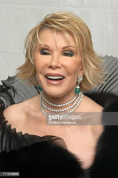 Joan Rivers during American Ballet Theatre Spring Gala at Metropolitan Opera House Lincoln Center in New York City New York United States