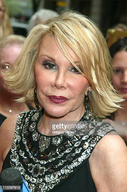 Joan Rivers during Regis Philbin and Kelly Ripa Host the Third Annual Relly Awards on 'Live with Regis and Kelly' at ABCTV Studios in Manhattan in...