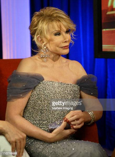 Joan Rivers during The 77th Annual Academy Awards Behind The Scenes at Kodak Theatre in Los Angeles California United States