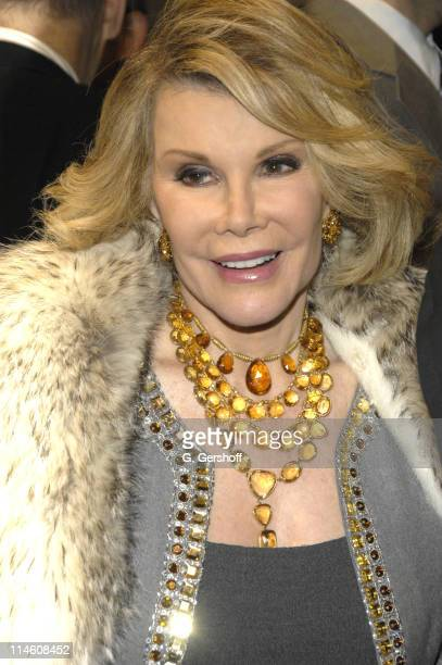 Joan Rivers during The Apple Tree's Broadway Opening Night December 14th 2006 at Roundabout Theatre Company's Studio 54 in New York City New York...