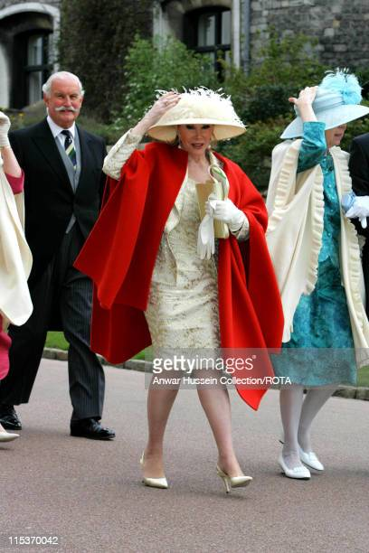 Joan Rivers during The Royal Wedding of HRH Prince Charles and Mrs Camilla Parker Bowles The Blessing Ceremony Arrivals at St George's Chapel in...