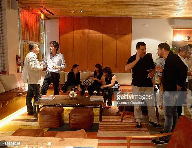 Joan Roca Pablo FernandezValdesVanessa FernandezValdesJosep Roca and Jordi Roca attends the KLIMA Restuarant And Bar Hosts A Private Dinner For The...