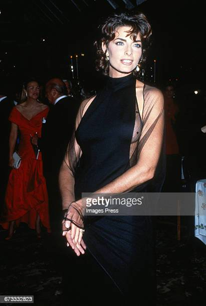 Joan Severance attends the 8th Annual Rita Hayworth Gala to benefit the Alzheimer's Foundation held at Tavern on the Green circa 1992 in New York City