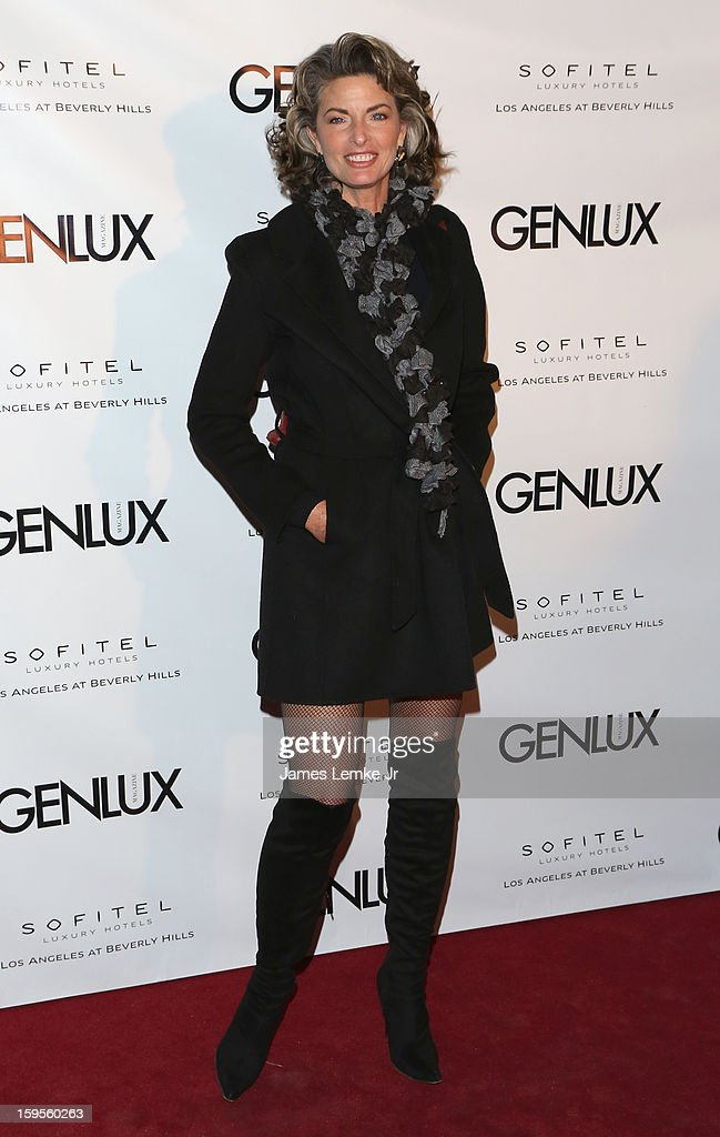 Joan Severance attends the Genlux Cover Girl Kristin Chenoweth Celebrates Opening of new bar Riviera 31 at The Sofitel L.A. on January 15, 2013 in Beverly Hills, California.