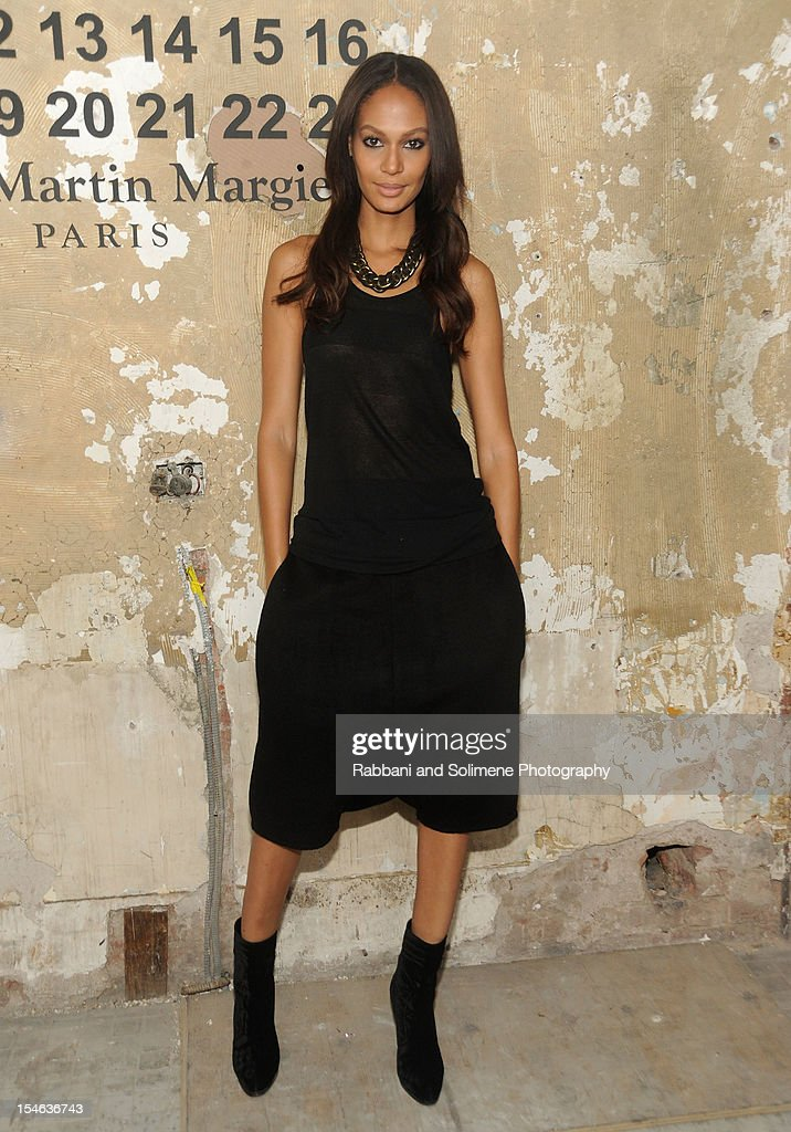 Joan Small attends the Maison Martin Margiela with H&M global launch event at 5 Beekman on October 23, 2012 in New York City.
