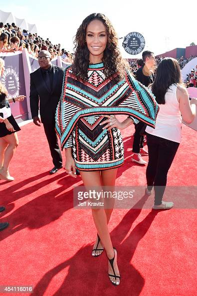 Joan Smalls attends the 2014 MTV Video Music Awards at The Forum on August 24 2014 in Inglewood California