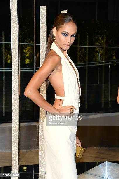 Joan Smalls attends the 2015 CFDA Fashion Awards at Alice Tully Hall at Lincoln Center on June 1 2015 in New York City