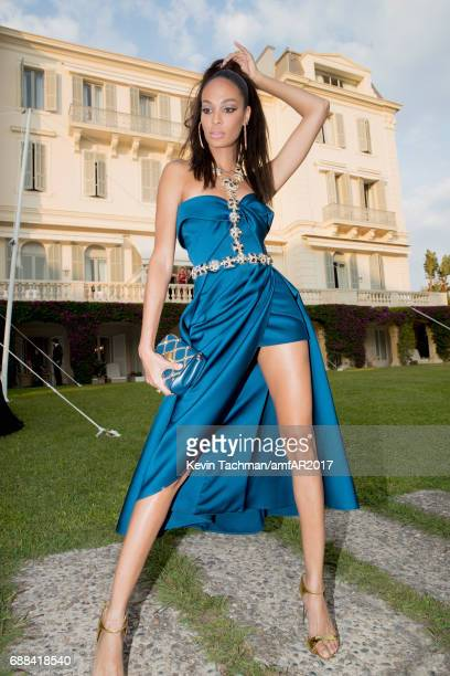 Joan Smalls attends the amfAR Gala Cannes 2017 at Hotel du CapEdenRoc on May 25 2017 in Cap d'Antibes France