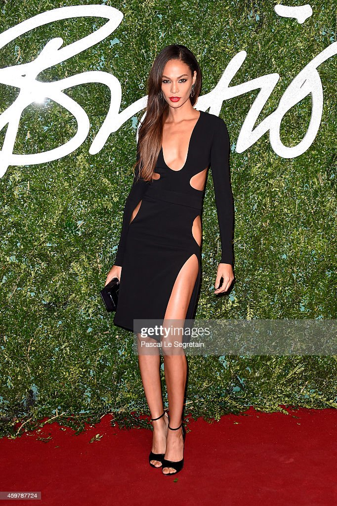 Joan Smalls attends the British Fashion Awards at London Coliseum on December 1, 2014 in London, England.