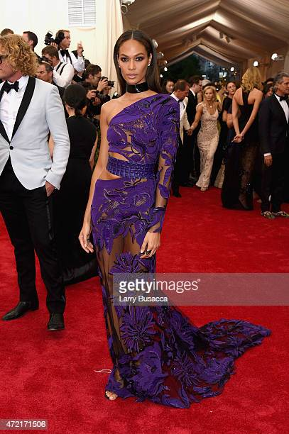 Joan Smalls attends the 'China Through The Looking Glass' Costume Institute Benefit Gala at the Metropolitan Museum of Art on May 4 2015 in New York...