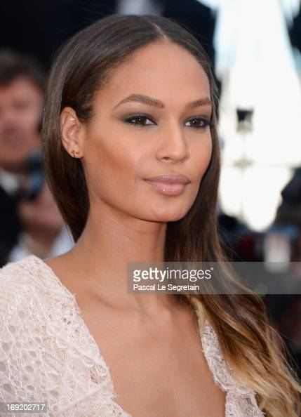 Joan Smalls attends the 'Cleopatra' premiere during The 66th Annual Cannes Film Festival at The 60th Anniversary Theatre on May 21 2013 in Cannes...