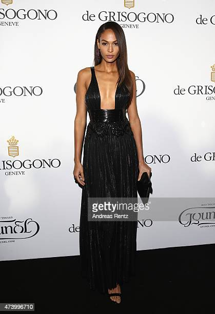 Joan Smalls attends the De Grisogono party during the 68th annual Cannes Film Festival on May 19 2015 in Cap d'Antibes France