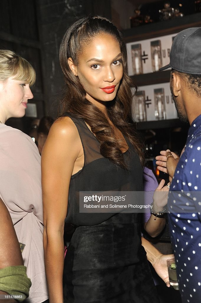 Joan Smalls attends the Destination Iman Website Launch Party at Dream Downtown on September 7, 2012 in New York City.