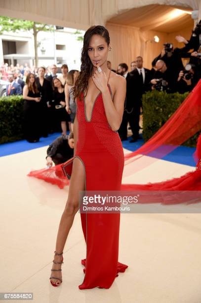 Joan Smalls attends the 'Rei Kawakubo/Comme des Garcons Art Of The InBetween' Costume Institute Gala at Metropolitan Museum of Art on May 1 2017 in...