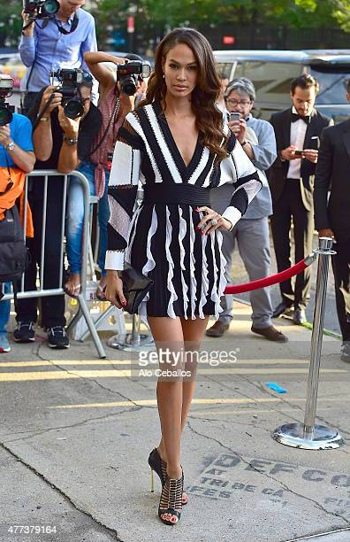 Joan Smalls is seen on June 16 2015 in New York City