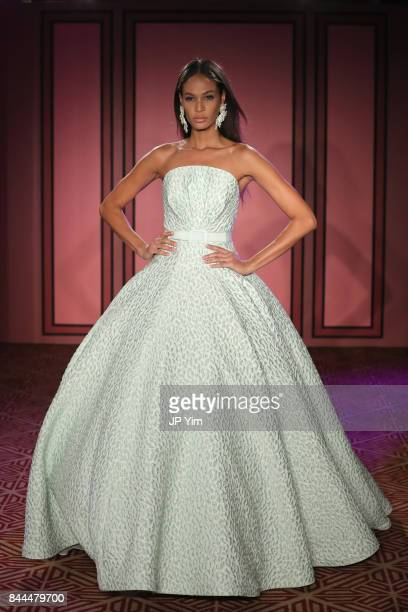 Joan Smalls walks the runway at the Brandon Maxwell fashion show during New York Fashion Week The Shows on September 8 2017 in New York City