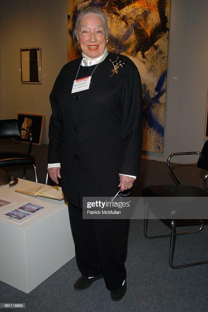 Joan T Washburn attends The Art Show Gala to Benefit The Henry Street Settlement at The Seventh Regiment Armory on February 23 2005 in New York City