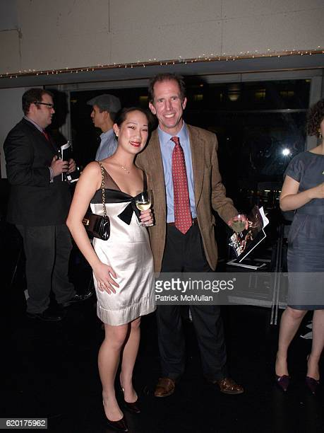 Joan Tom and David Poor attend PAUL TAYLOR DANCE Hosts Cocktails for YOUNG PATRONS at 552 Broadway on November 11 2008 in New York City
