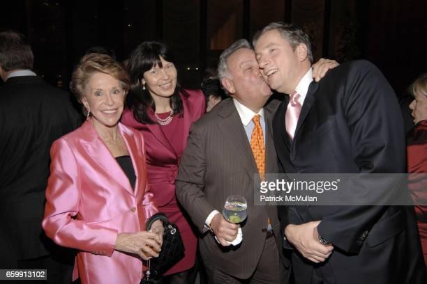 Joan Weill Birgit Kleinfeld Sanford Weill and Klaus Kleinfeld attend WHITE NIGHTS Annual Benefit Honoring Donald M Kendall at Four Seasons Restaurant...