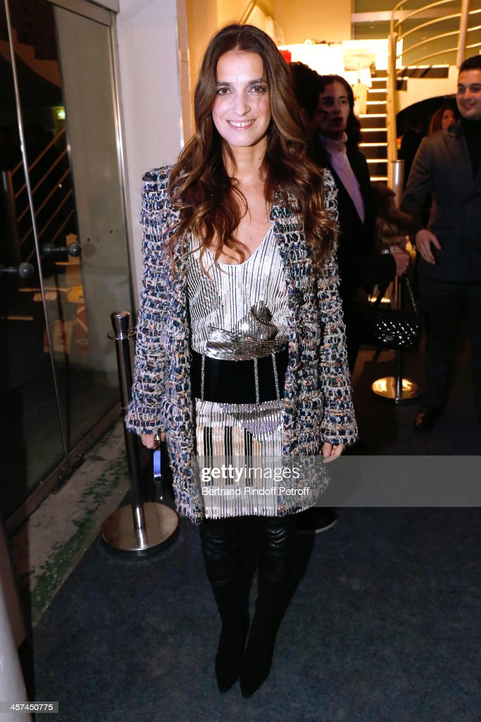 <a gi-track='captionPersonalityLinkClicked' href=/galleries/search?phrase=Joana+Preiss&family=editorial&specificpeople=618045 ng-click='$event.stopPropagation()'>Joana Preiss</a> (wearing Chanel) attends the Annual Charity Dinner hosted by the AEM Association Children of the World for Rwanda on December 17, 2013. Held at Espace Pierre Cardin in Paris, France.