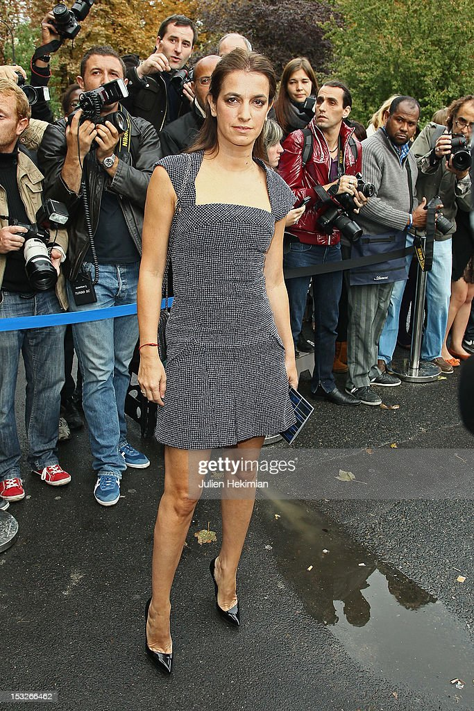 Joana Preiss attends the Chanel Spring / Summer 2013 show as part of Paris Fashion Week at Grand Palais on October 2, 2012 in Paris, France.