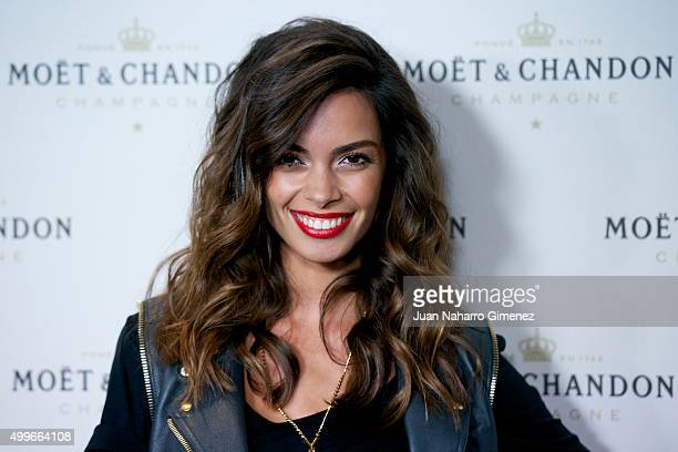 Joana Sanz attends 'Moet Chandon' party at Circulo de Bellas Artes on December 2 2015 in Madrid Spain