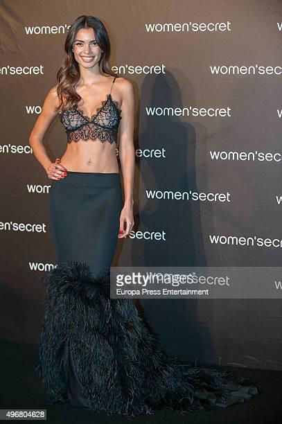 Joana Sanz attends Women's Secret videoclip premiere at Sala La Riviera on November 11 2015 in Madrid Spain
