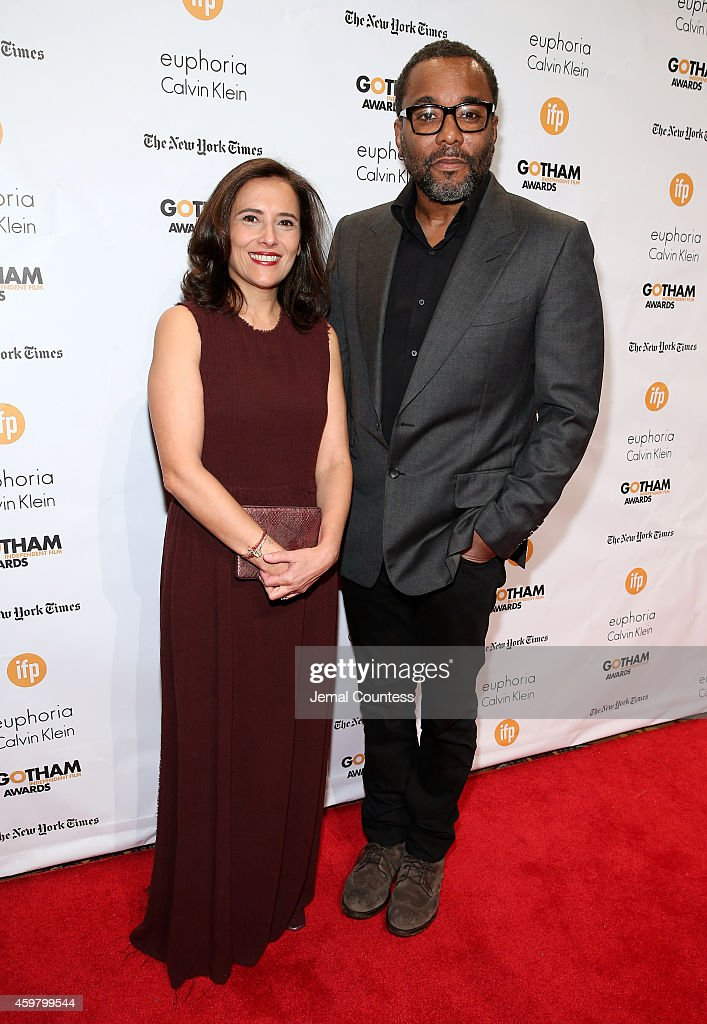 Joana Vicente and Lee Daniels attend IFP's 24th Gotham Independent Film Awards at Cipriani Wall Street on December 1 2014 in New York City