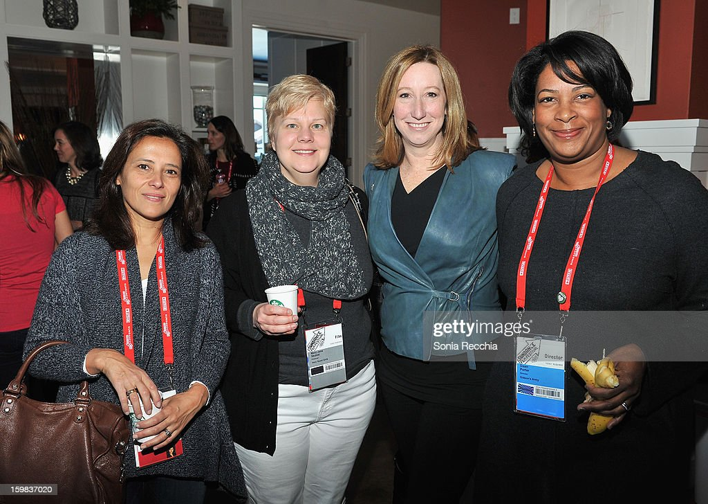 Joana Vicente, Mary Jane Skalski, Keri Putnam and Dawn Porter attend the Women at Sundance Brunch during the 2013 Sundance Film Festival on January 21, 2013 in Park City, Utah.