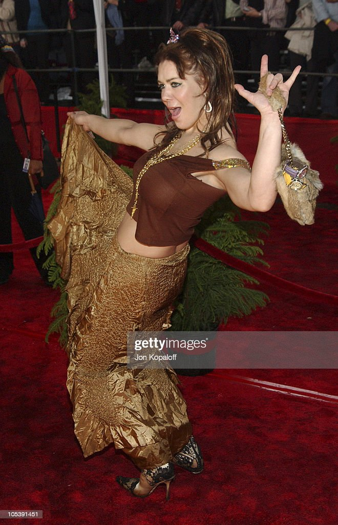 Joanie 'Chyna' Laurer during 31st Annual People's Choice Awards Arrivals at Pasadena Civic Auditorium in Pasadena California United States