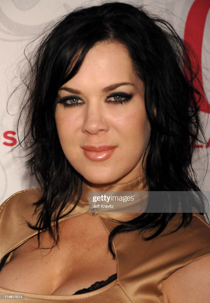 Joanie 'Chyna' Laurer during 5th Annual TV Land Awards Red Carpet at Barker Hangar in Santa Monica California United States