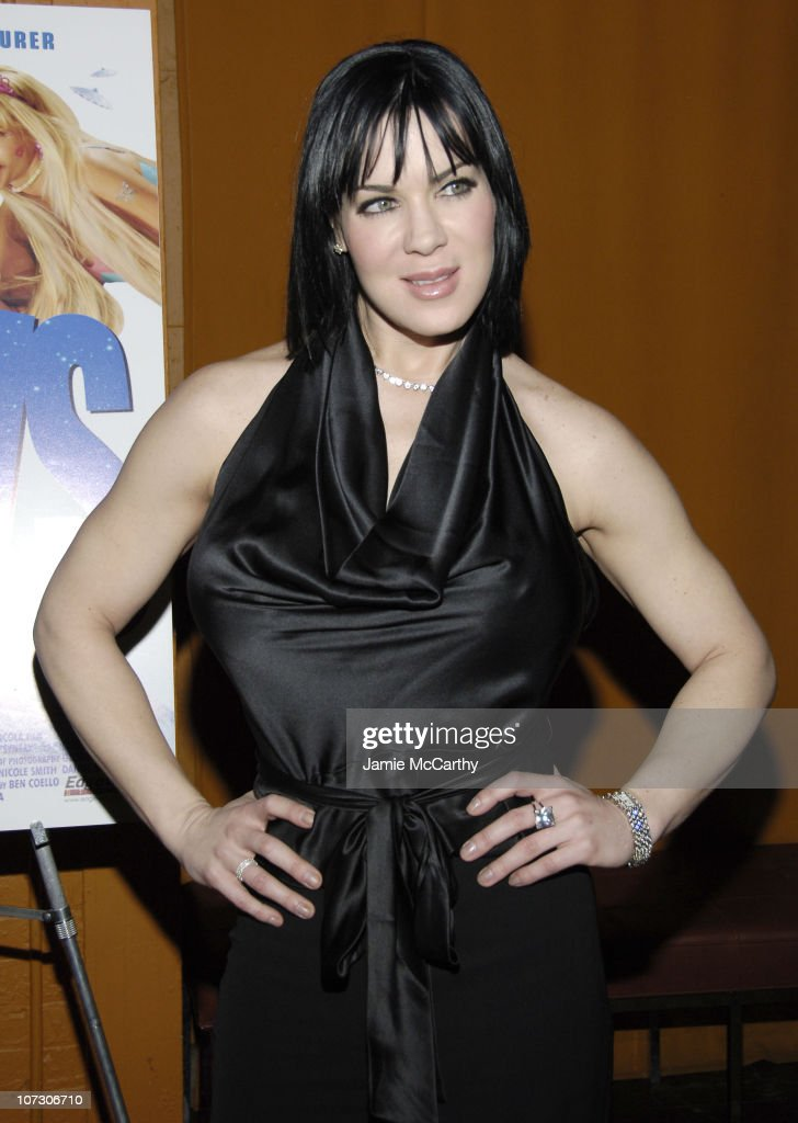 Joanie 'Chyna' Laurer during 'Illegal Aliens' New York City Preview Screening March 1 2006 at Tribeca Cinemas in New York City New York United States