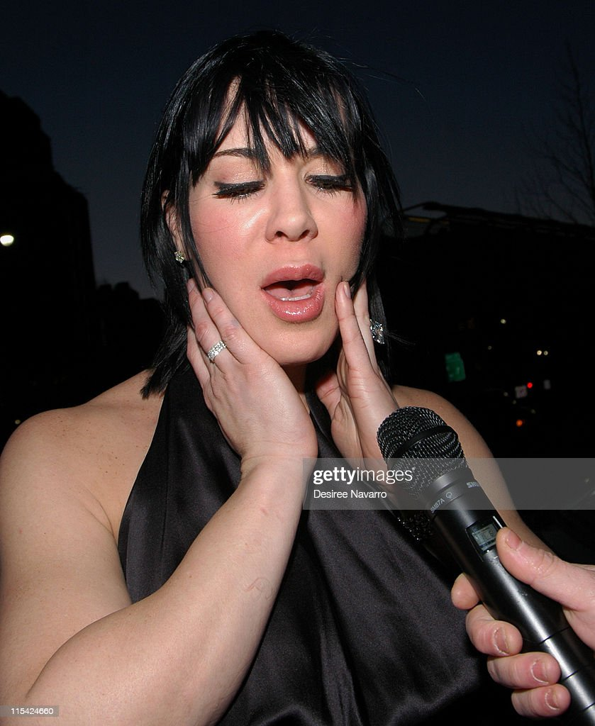 Joanie 'Chyna' Laurer during 'Illegal Aliens' Preview March 1 2006 at Tribeca Cinemas in New York City New York United States