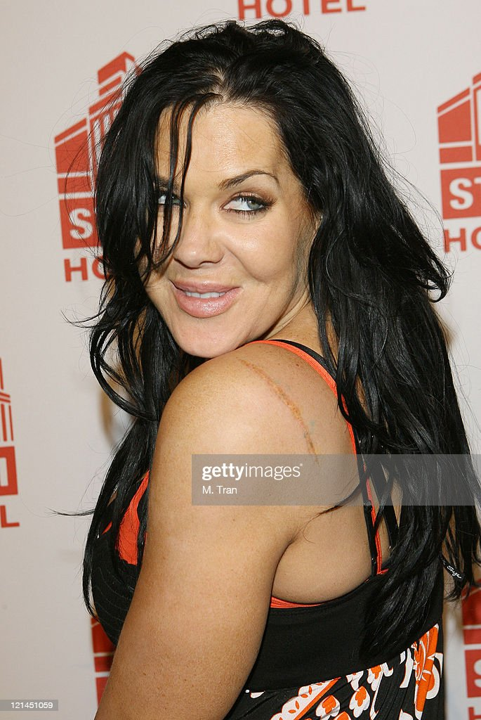 Joanie 'Chyna' Laurer during Sons of Hollywood Host Party at the Stoli Hotel at Stoli Hotel in Hollywood California United States