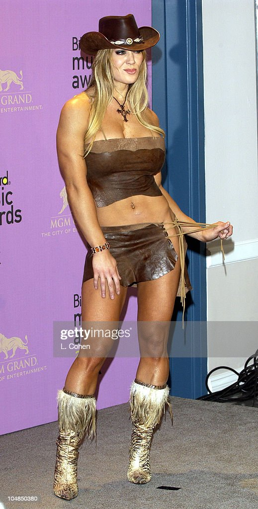 Joanie Laurer during 2002 Billboard Music Awards Press Room at MGM Grand Arena in Las Vegas Nevada United States