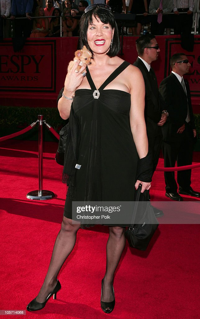 Joanie Laurer during 2005 ESPY Awards Arrivals at Kodak Theatre in Hollywood California United States