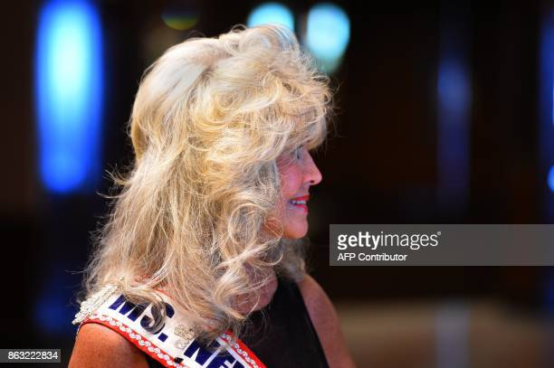 Joann Gordon Ms New Jersey Senior 2008 is pictured before the finals of the 38th Annual National Ms Senior America 2017 Pageant held at the Resorts...