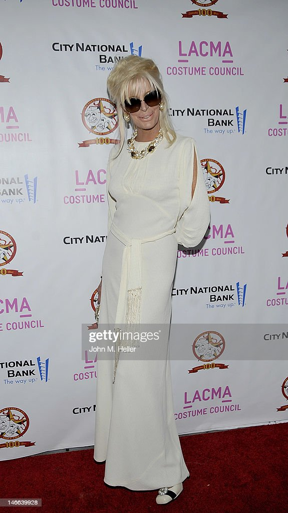 JoAnn Hilton arrives at The Costume Council Of LACMA Celebrates The Western Costume Company: The First 100 Years at the Bing Theatre At LACMA on June 20, 2012 in Los Angeles, California.
