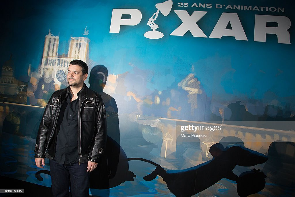 Joann Sfar attends the 'Pixar, 25 years of animation' exhibition on November 14, 2013 in Paris, France.