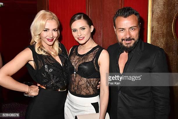 Joanna Atik actress/singer/TV presenter Clara Morgane and Pink Paradise director/turkish TV serial 'Eve Donus' actor Muratt Atik and attend the 2nd...
