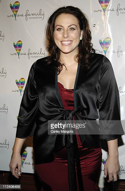 Joanna Bennett during We Are Family Foundation To Honor Sir Elton John Quincy Jones Tommy Hilfiger and The Comcast Family of Companies at The...