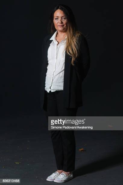 Joanna Cannon attends a photocall during the Edinburgh International Book Festival on August 21 2017 in Edinburgh Scotland