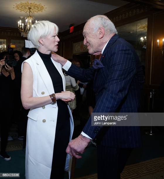 Joanna Coles and Leonard A Lauder attend 2017 Outstanding Mother Awards at The Pierre Hotel on May 8 2017 in New York City