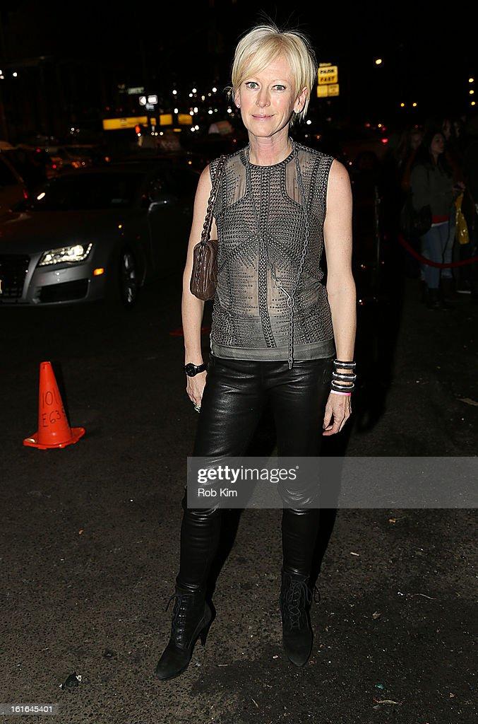 Joanna Coles, editor of Cosmopolitan attends the Miley Cyrus March 'Cosmo' Cover Issue Celebration at Acme on February 13, 2013 in New York City.