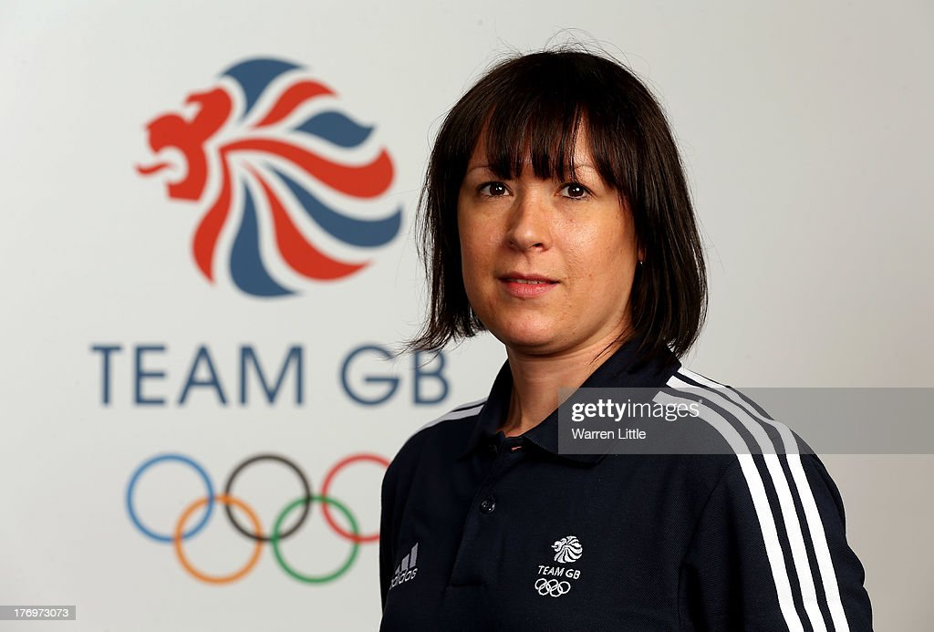 Joanna Eley, Development Coach of the British Winter Olympic Short Track Team poses for a portrait during the Team GB Winter Olympic Media Summit at Bath University on August 9, 2013 in Bath, England.