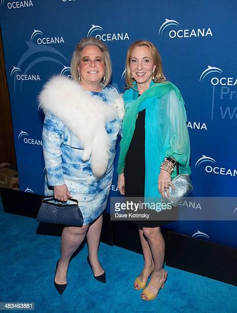 Joanna Fisher na d Susan Rockfeller attends Oceana's New York City Benefit at Four Seasons Restaurant on April 8 2014 in New York City