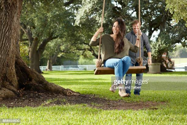 Joanna Gaines and Chip Gaines of HGTV's 'Fixer Uppers' are photographed for People Magazine on August 23 2016 in Waco Texas PUBLISHED IMAGE