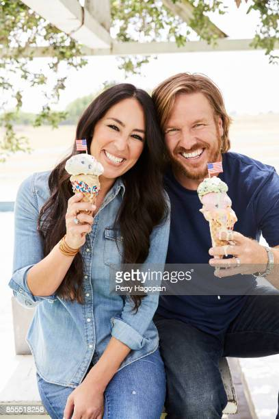Joanna Gaines and Chip Gaines of HGTV's 'Fixer Uppers' are photographed for People Magazine on June 2 2017 in Waco Texas COVER IMAGE